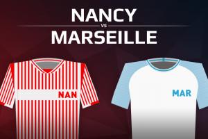 AS Nancy Lorraine VS Olympique de Marseille