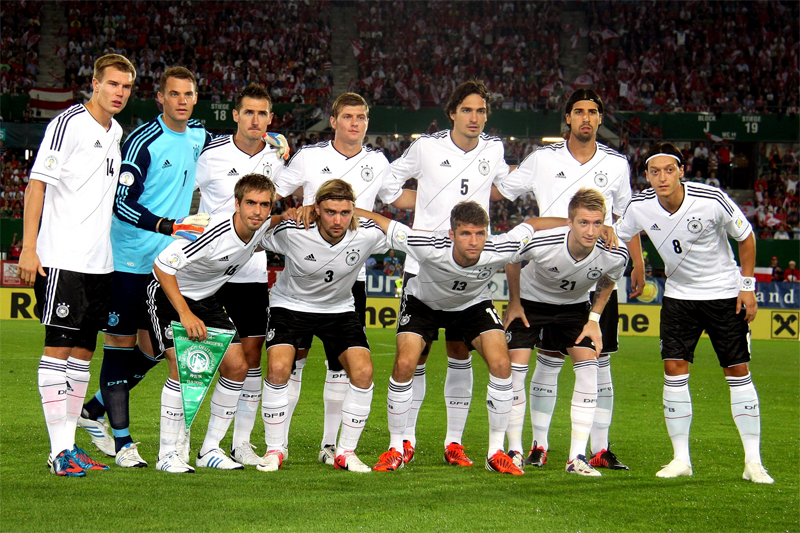 Equipe d'Allemagne