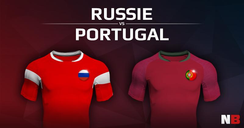 Russie VS Portugal