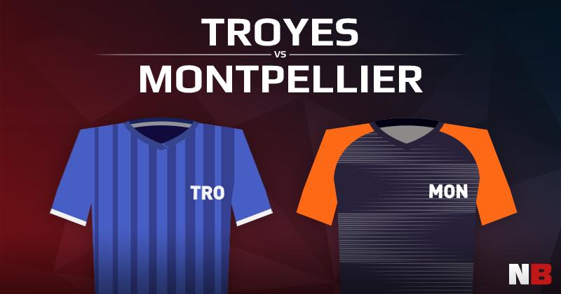 ESTAC Troyes VS Montpellier Hérault Sport Club
