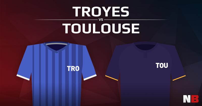 ESTAC Troyes VS Toulouse FC