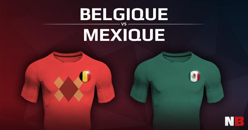 Belgique VS Mexique