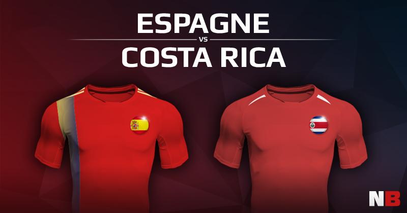 Espagne VS Costa Rica