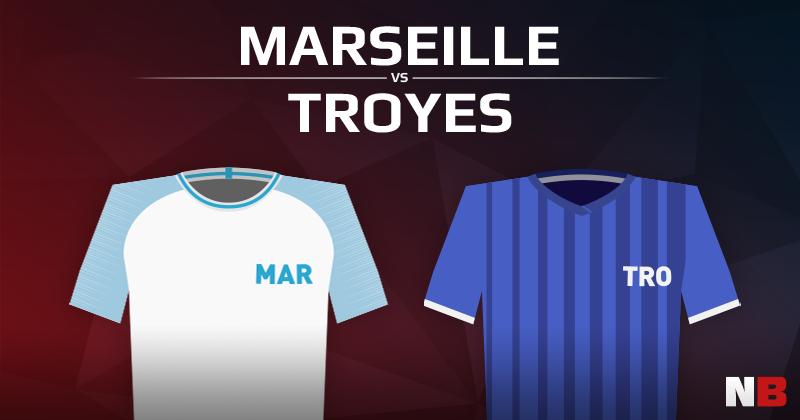 Olympique de Marseille VS ESTAC Troyes