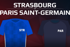 RC Strasbourg VS Paris Saint Germain