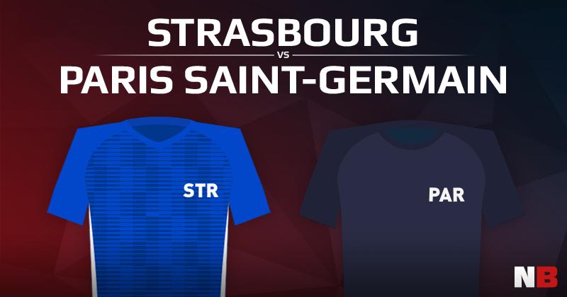 RC Strasbourg VS Paris Saint Germain