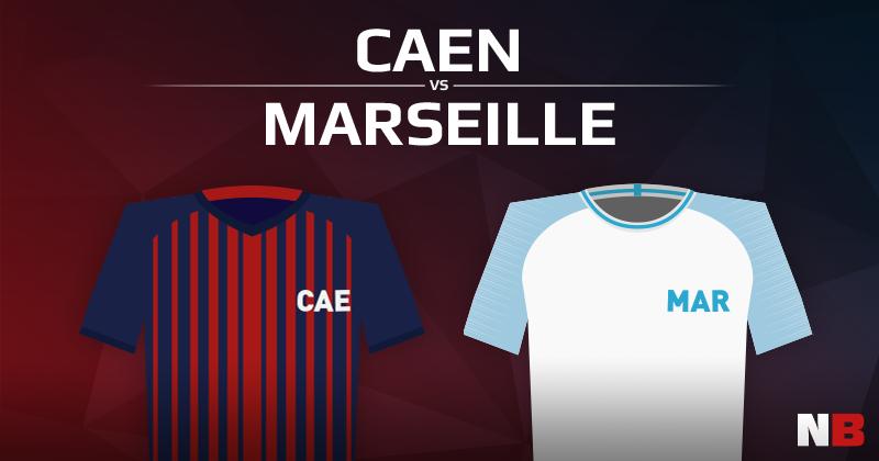 Stade Malherbe de Caen VS Olympique de Marseille