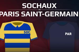 FC Sochaux-Montbéliard VS Paris Saint Germain