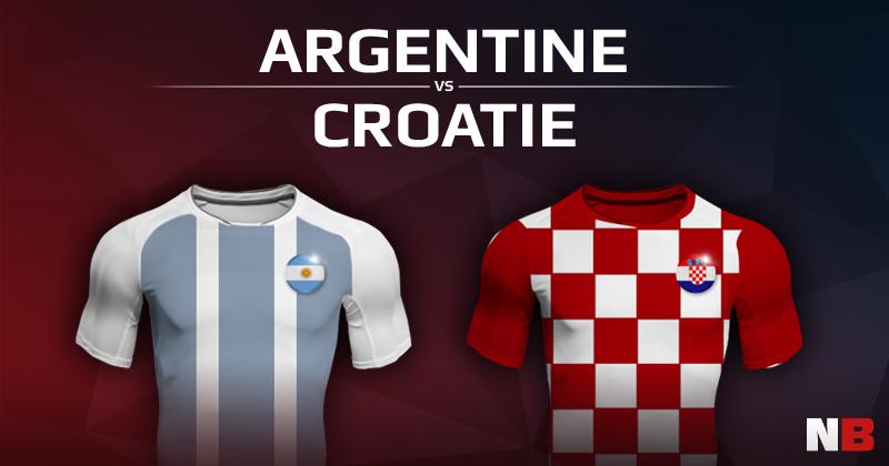 Argentine VS Croatie