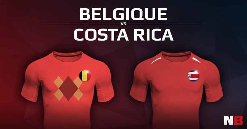 Belgique VS Costa Rica