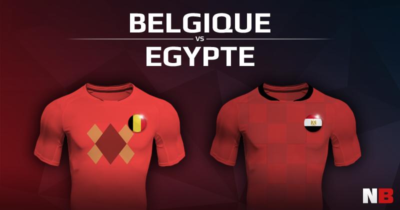 Belgique VS Egypte