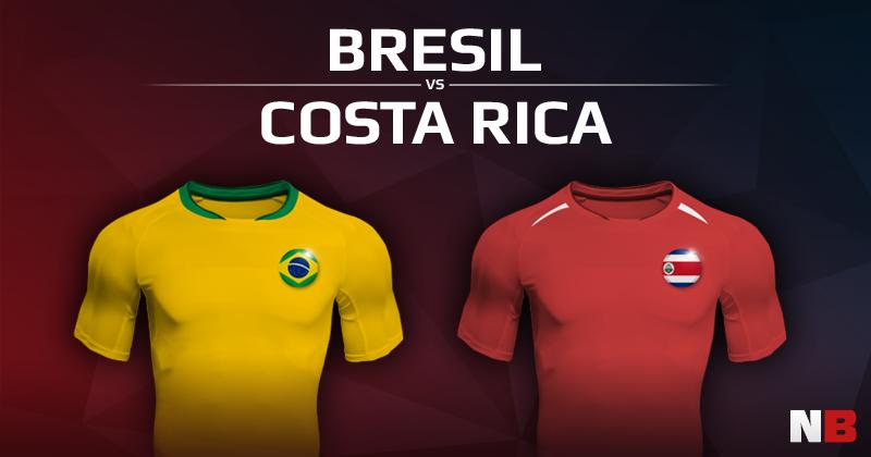 Brésil VS Costa Rica
