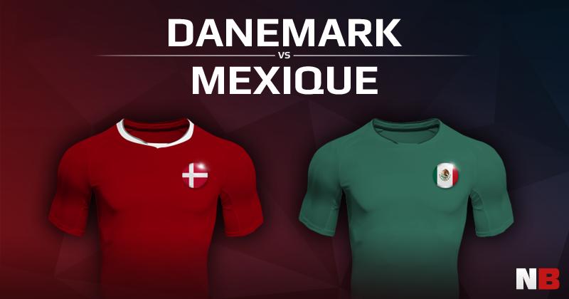 Danemark VS Mexique