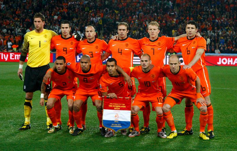 Equipe des Pays Bas