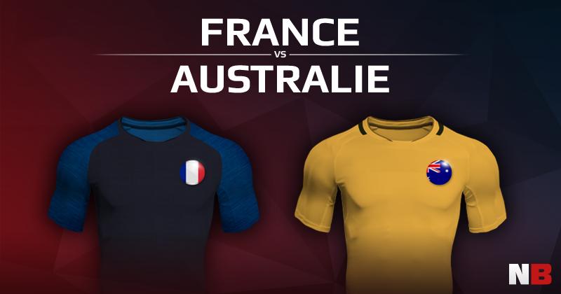 France VS Australie