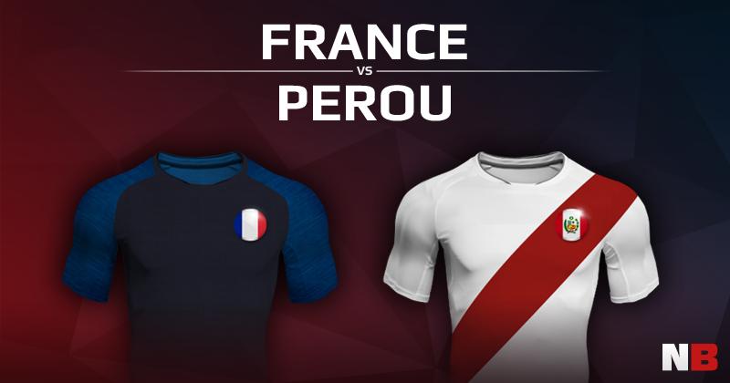 France VS Pérou