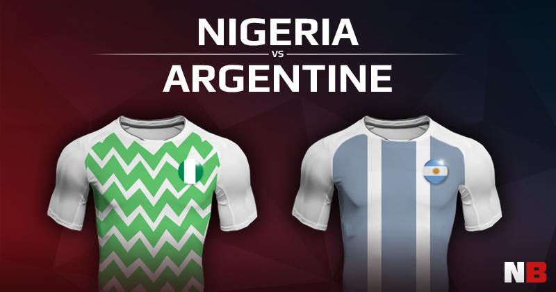 Nigéria VS Argentine