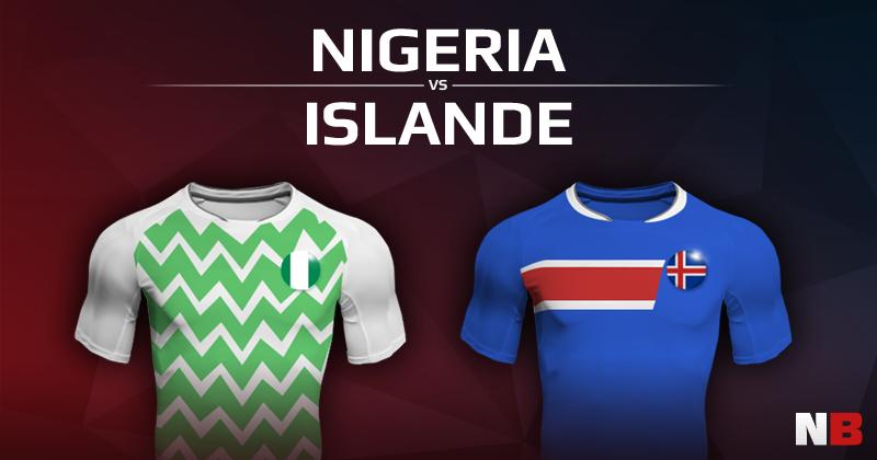 Nigéria VS Islande