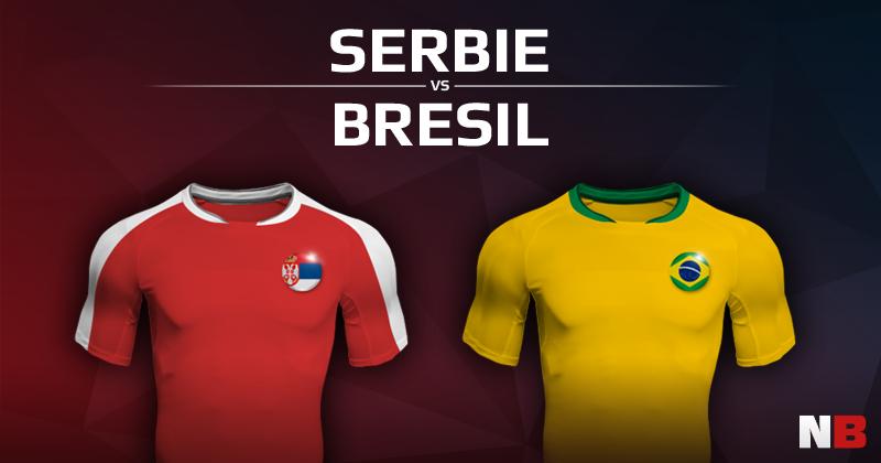 Serbie VS Brésil