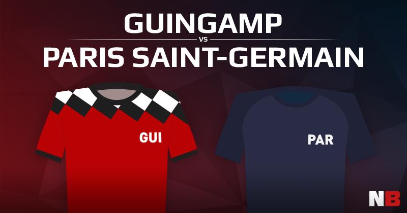 En Avant Guingamp VS Paris Saint Germain