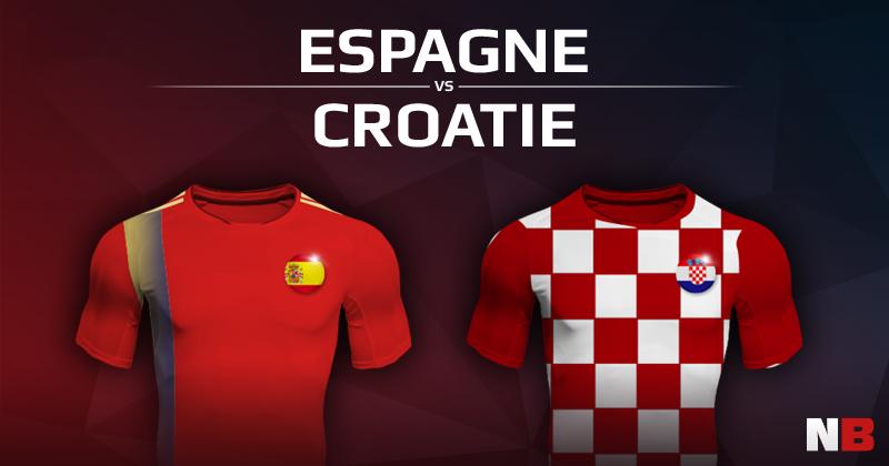 Espagne VS Croatie