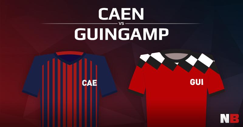 Stade Malherbe de Caen VS En Avant Guingamp