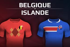 Belgique VS Islande