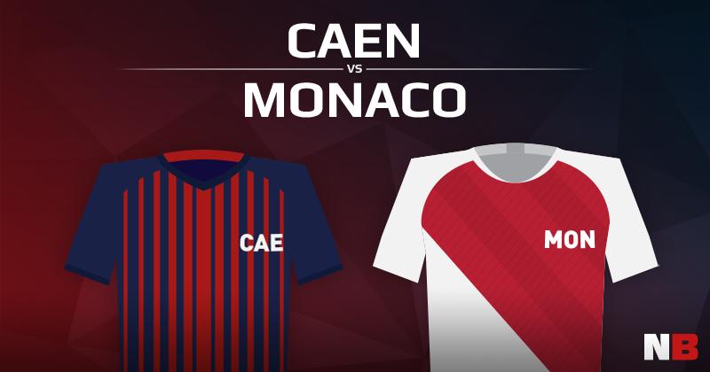Stade Malherbe de Caen VS AS Monaco