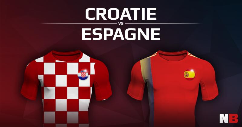 Croatie VS Espagne