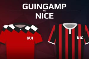 En Avant Guingamp VS OGC Nice