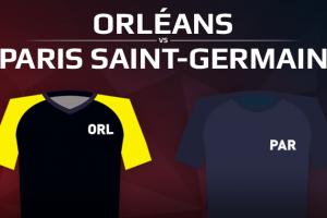 US Orléans VS Paris Saint-Germain