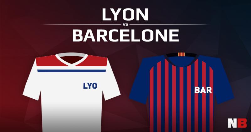 Olympique Lyonnais VS FC Barcelone