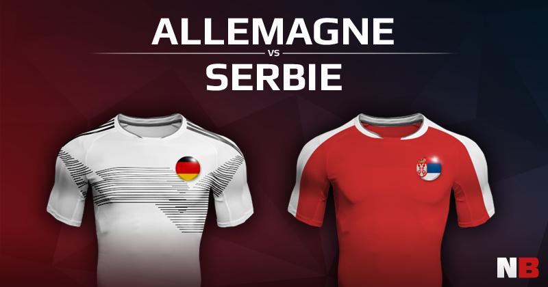 Allemagne VS Serbie