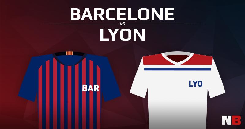 FC Barcelone VS Olympique Lyonnais