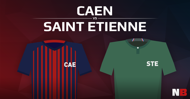 Stade Malherbe de Caen VS AS Saint Etienne