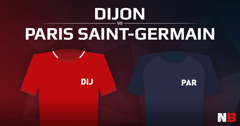FC Dijon VS Paris Saint-Germain