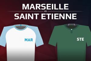Olympique de Marseille VS AS Saint Etienne