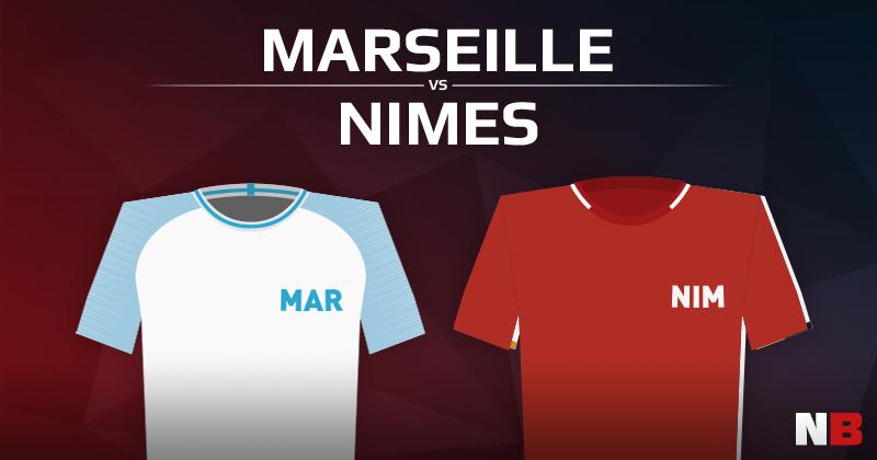 Olympique de Marseille VS Nîmes Olympique