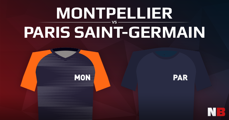 Montpellier Hérault Sport Club VS Paris Saint-Germain