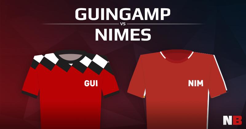 En Avant Guingamp VS Nîmes Olympique