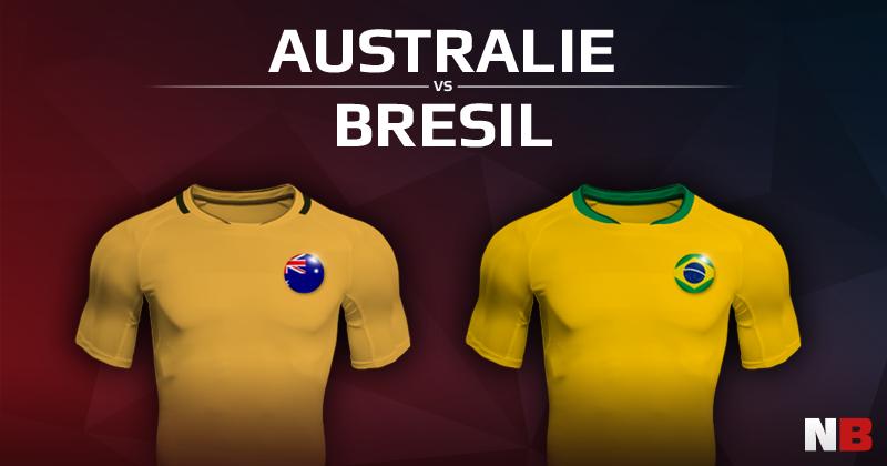 Australie VS Brésil