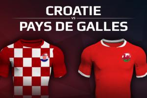 Croatie VS Pays de Galles