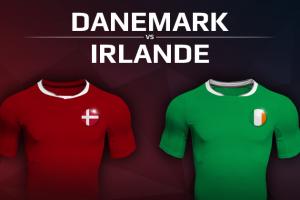 Danemark VS Irlande
