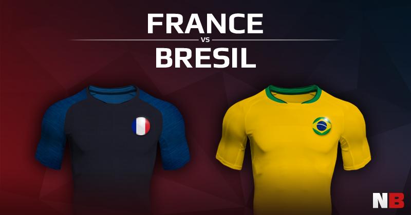 France VS Brésil