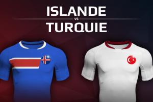 Islande VS Turquie