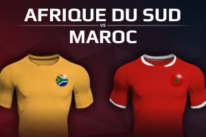 Afrique du Sud VS Maroc