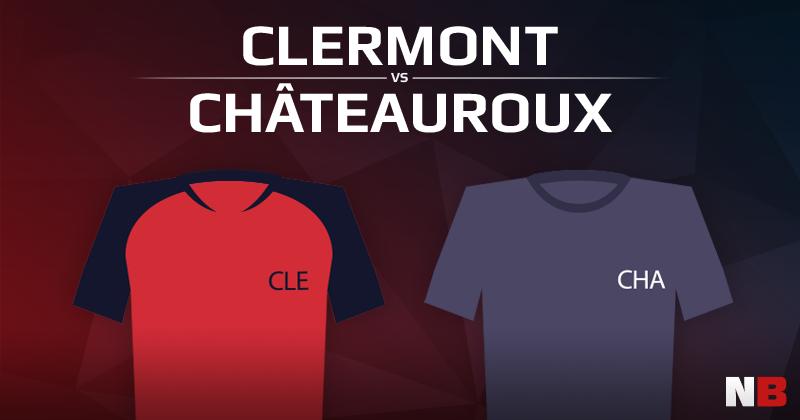 Clermont VS Châteauroux