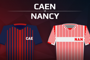 Stade Malherbe de Caen VS AS Nancy Lorraine