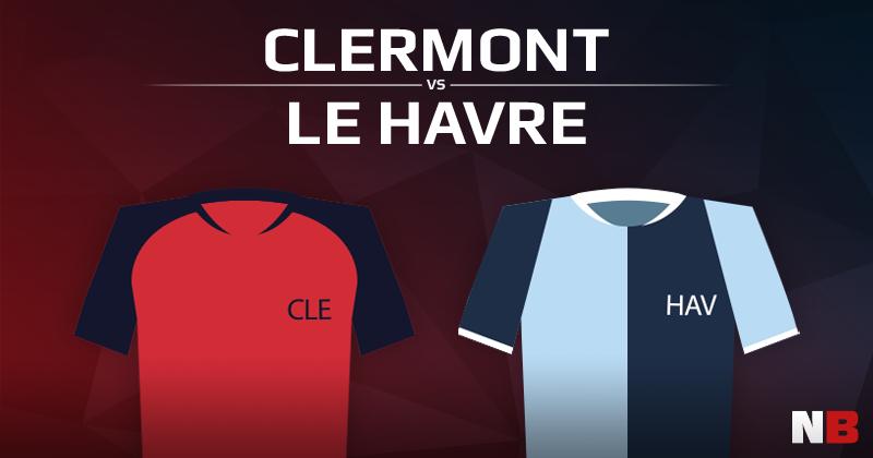 Clermont VS Le Havre Athletic Club
