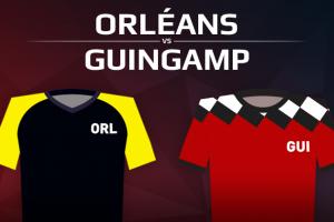 US Orléans VS En Avant Guingamp